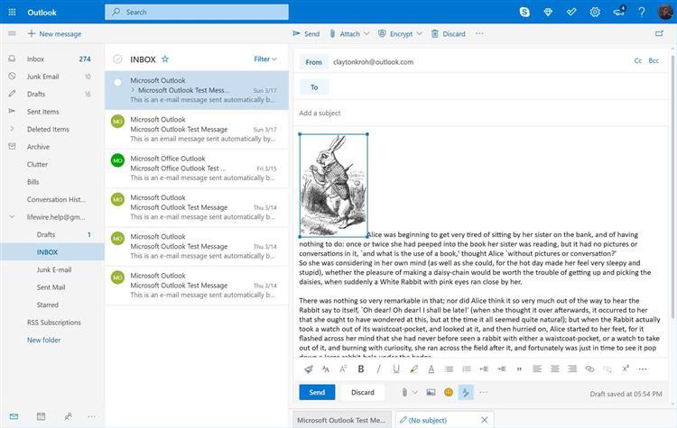 Как в почту вставить картинку outlook. Как вставить встроенное изображение в сообщение Outlook